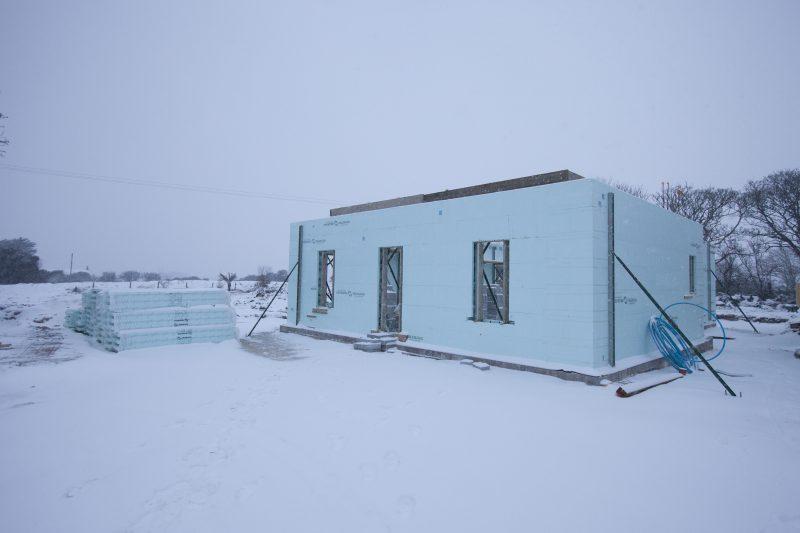 1st Floor Snow 1 Milne Construction